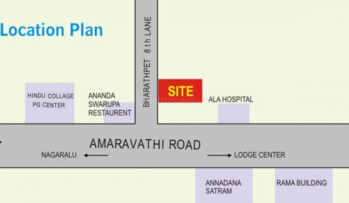 Project Image of 1106.0 - 1656.0 Sq.ft 2 BHK Apartment for buy in Ashok Sri Sai Pujitha Elite