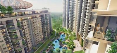 Gallery Cover Image of 1500 Sq.ft 3 BHK Apartment for rent in Bhartiya City Nikoo Homes, Kannuru for 28000