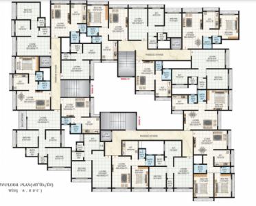 जय मल्हार श्री आनंदी पैराडाइज़ में खरीदने के लिए 335.0 - 675.0 Sq.ft 1 RK अपार्टमेंट प्रोजेक्ट  की तस्वीर