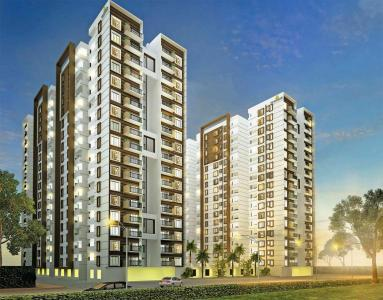 Gallery Cover Image of 1105 Sq.ft 2 BHK Apartment for rent in Kalena Agrahara for 32000