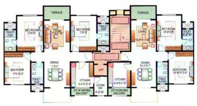 Gallery Cover Image of 1120 Sq.ft 2 BHK Apartment for rent in Karia Konark Indrayu Enclave I, Mohammed Wadi for 22000