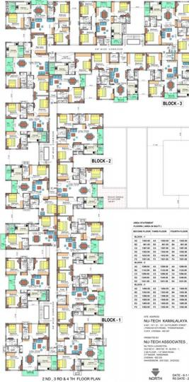 Project Image of 850.0 - 1169.0 Sq.ft 3 BHK Apartment for buy in Nu Tech Kamalalaya