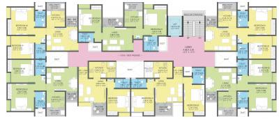 Project Image of 0 - 694.6 Sq.ft 2 BHK Apartment for buy in Sankalp Shanti Samarth