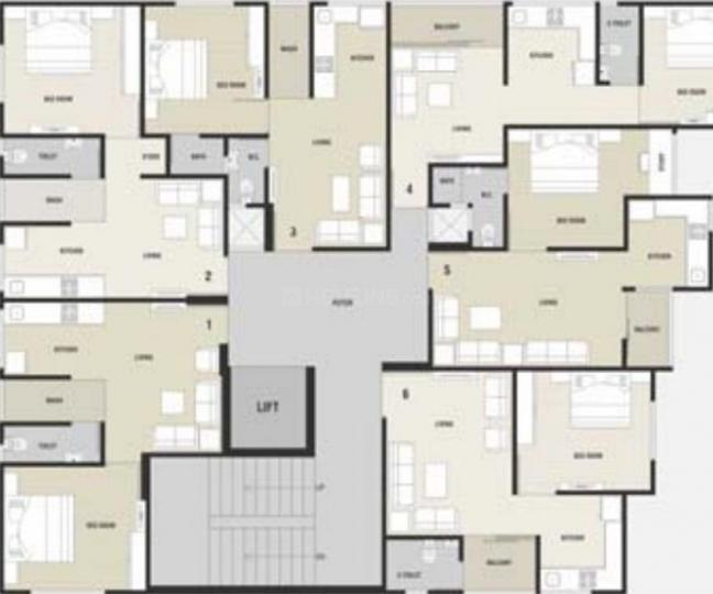 Project Image of 675.0 - 720.0 Sq.ft 1 BHK Apartment for buy in Subh Samruddhi Residency