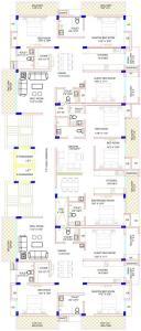 सांची ग्लोरिया में खरीदने के लिए 924.3 - 1146.36 Sq.ft 3 BHK अपार्टमेंट प्रोजेक्ट  की तस्वीर
