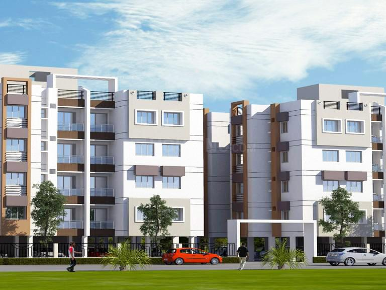 Project Image of 253.92 - 285.03 Sq.ft 1 BHK Apartment for buy in SDPL Aashray Wanjara