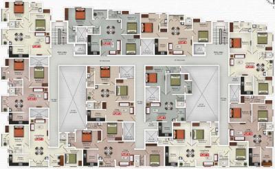Project Image of 1124.0 - 1249.0 Sq.ft 3 BHK Apartment for buy in Saradeuz Tulip