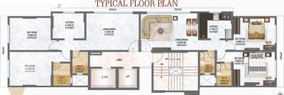 विजय राज विराज ब्लीस में खरीदने के लिए 752.0 - 757.0 Sq.ft 2 BHK अपार्टमेंट प्रोजेक्ट  की तस्वीर