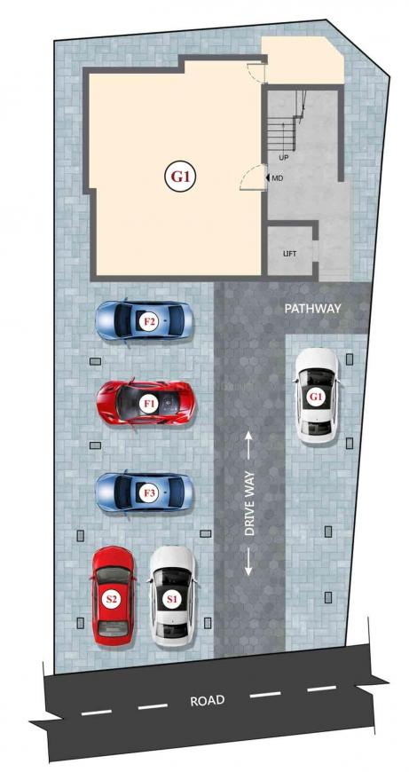 Project Image of 685.0 - 986.0 Sq.ft 2 BHK Apartment for buy in DAC Mahathi