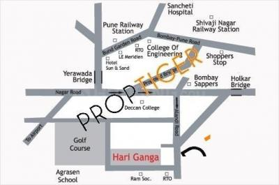 Gallery Cover Image of 1075 Sq.ft 2 BHK Apartment for rent in Goel Ganga Hari Ganga Phase II, Yerawada for 23000