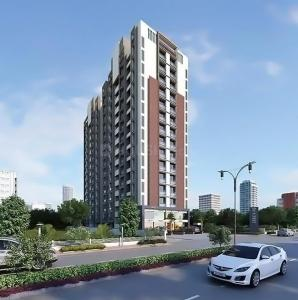 Gallery Cover Image of 1575 Sq.ft 3 BHK Apartment for buy in Shakti 140, Thaltej for 8500000