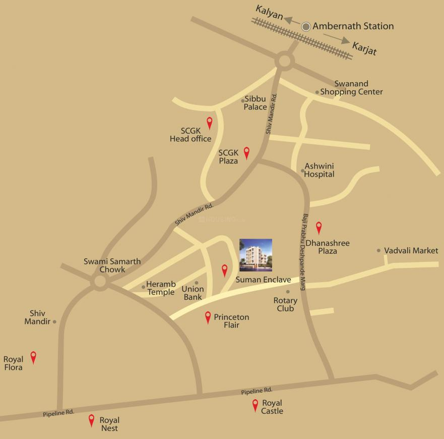 Project Image of 445.0 - 1028.0 Sq.ft 1 BHK Apartment for buy in SCGK Suman Enclave