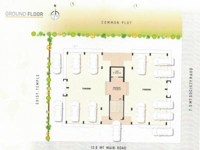 Project Image of 435.94 - 449.18 Sq.ft 2 BHK Apartment for buy in Varsha Param Residency