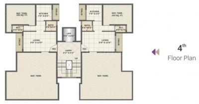 कन्या अबोती लॅंडमार्क में खरीदने के लिए 198.27 - 285.03 Sq.ft 1 RK अपार्टमेंट प्रोजेक्ट  की तस्वीर