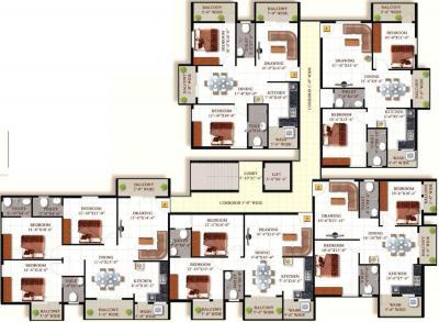 एसएमएल ईरिस में खरीदने के लिए 1025.0 - 1230.0 Sq.ft 2 BHK अपार्टमेंट प्रोजेक्ट  की तस्वीर