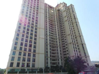 Gallery Cover Image of 1050 Sq.ft 2 BHK Apartment for rent in Vijay Galaxy, Thane West for 24500