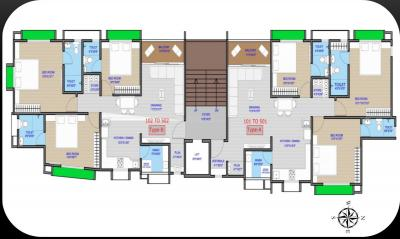 Project Image of 84.61 - 90.07 Sq.ft 3 BHK Apartment for buy in Birva Devas 2