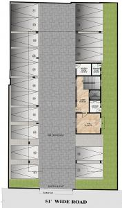 Project Image of 1680.0 - 2003.0 Sq.ft 3 BHK Apartment for buy in Sumanth Sreshta Eldams Road