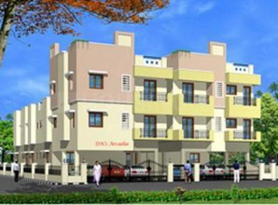 Gallery Cover Image of 812 Sq.ft 2 BHK Apartment for rent in DKS Arcadia, Perumbakkam for 14000