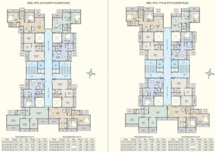 Project Image of 307.0 - 459.0 Sq.ft 1 BHK Apartment for buy in Parth Bhagat Heritage