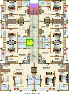 Project Image of 575.0 - 870.0 Sq.ft 1 BHK Apartment for buy in Alankar Vally