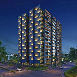 Gallery Cover Image of 1377 Sq.ft 2 BHK Apartment for buy in Unity Domain Heights, Shyamal for 8500000