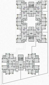 Project Image of 614.0 - 764.0 Sq.ft 2 BHK Apartment for buy in Aashray Atulyam