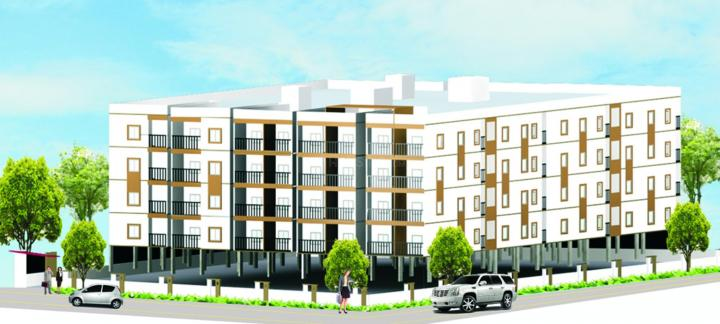 Project Image of 870.0 - 1210.0 Sq.ft 2 BHK Apartment for buy in Om Shri Opulence