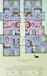 Project Image of 616 - 1222 Sq.ft 1.5 BHK Apartment for buy in Team Bou Thakuranir Haat
