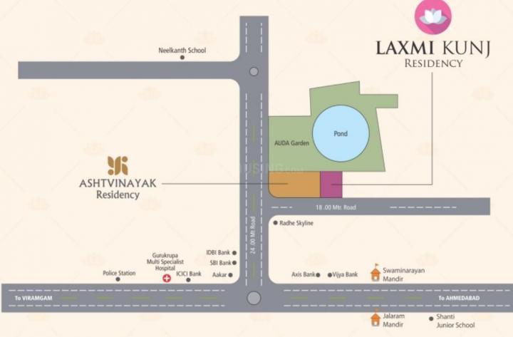 Project Image of 0 - 990.0 Sq.ft 2 BHK Apartment for buy in Shree Ashtavinayak Laxmi Kunj Residency