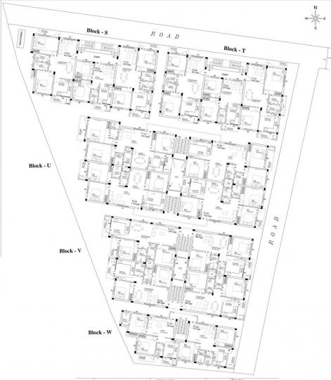 Project Image of 1053 Sq.ft 2 BHK Apartment for rentin Perungalathur for 11500