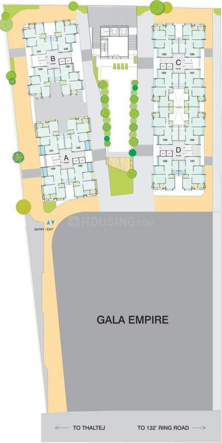 Project Image of 1385.0 - 1745.0 Sq.ft 3 BHK Apartment for buy in Gala Eternia