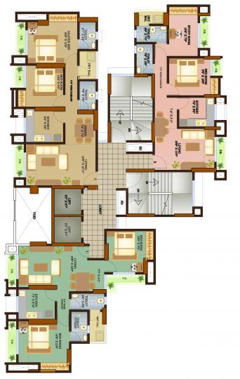 Project Image of 383 - 652 Sq.ft 1 RK Apartment for buy in Sonali Raut Building