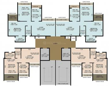 Project Image of 292.0 - 428.0 Sq.ft 1 BHK Apartment for buy in Neel Sidhi Anexo