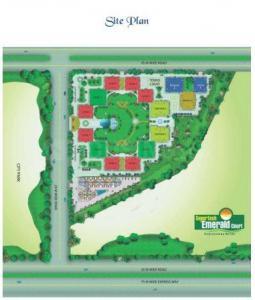 सुपरटेक एमराल्ड कोर्ट में खरीदने के लिए 1750.0 - 5431.0 Sq.ft 3 BHK अपार्टमेंट प्रोजेक्ट  की तस्वीर