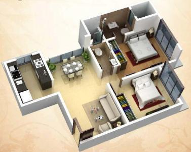 Gallery Cover Image of 565 Sq.ft 1 BHK Apartment for buy in DGS Sheetal Deep, Nalasopara West for 2325000