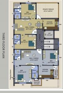 श्री हरी फ्लैट्स में खरीदने के लिए 769.0 - 990.0 Sq.ft 2 BHK अपार्टमेंट प्रोजेक्ट  की तस्वीर