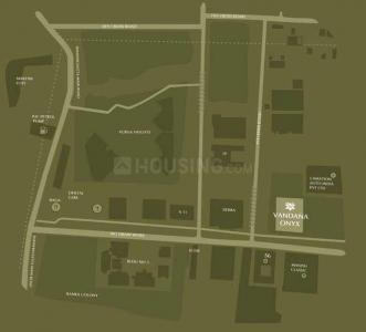 वंदना ओनिक्स में खरीदने के लिए 1177 - 1528 Sq.ft 2 BHK अपार्टमेंट प्रोजेक्ट  की तस्वीर
