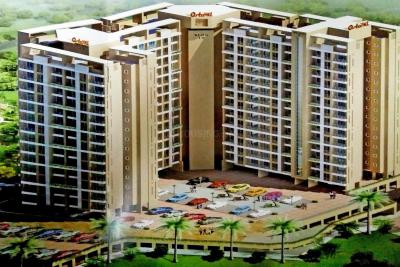 Gallery Cover Image of 595 Sq.ft 1 BHK Apartment for rent in Ostwal Orchid II, Mira Road East for 12000