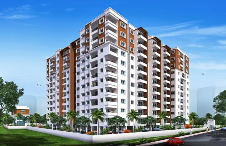 Project Image of 965.0 - 1400.0 Sq.ft 2 BHK Apartment for buy in Sri Maple Wood