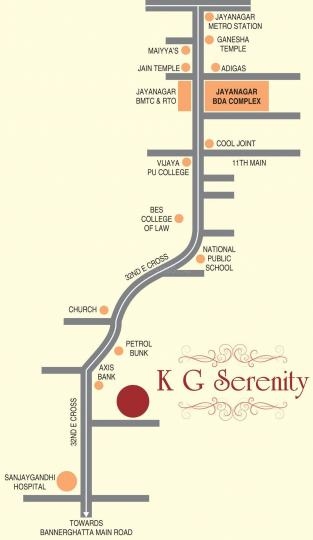 Project Image of 990.0 - 1170.0 Sq.ft 2 BHK Apartment for buy in Kushi K G Serenity