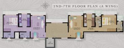 Project Image of 498.0 - 642.0 Sq.ft 1 BHK Apartment for buy in Kukreja Gardens