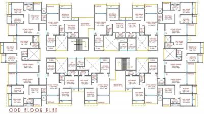 Project Image of 494.0 - 568.0 Sq.ft 2 BHK Apartment for buy in Wellwisher Kiarah Terrazo