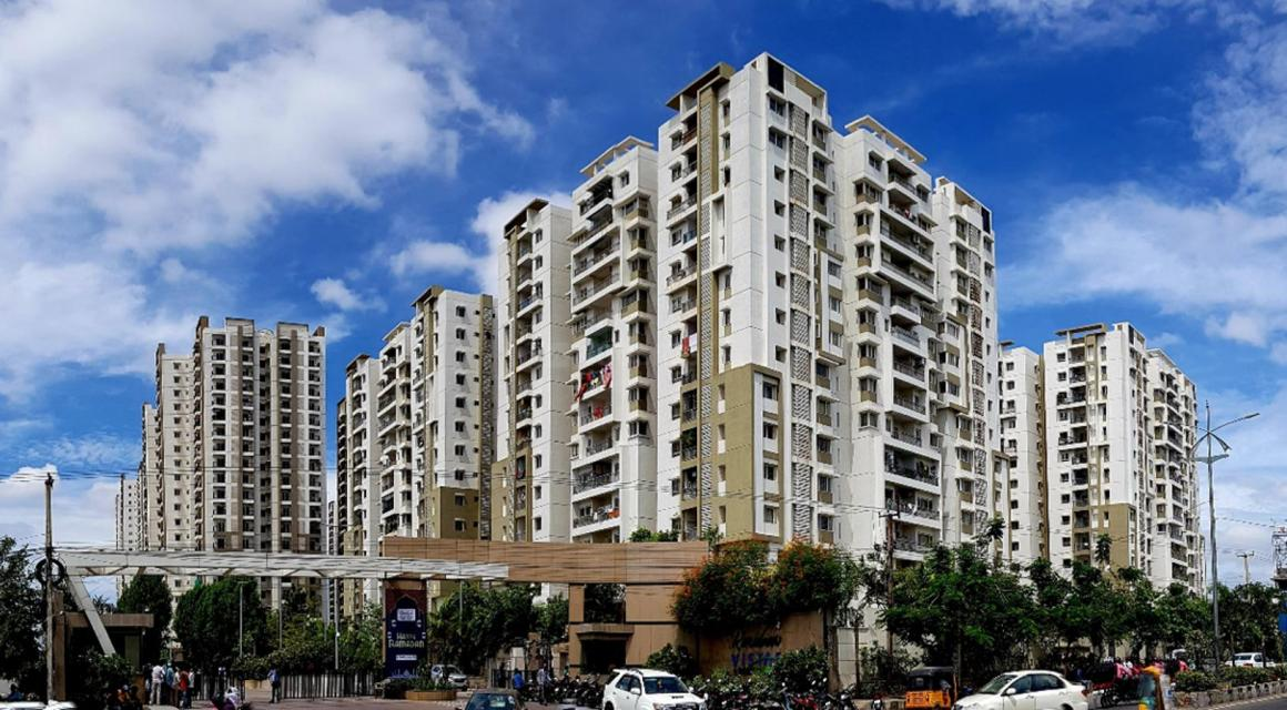 Project Image of 1929.97 - 3001.09 Sq.ft 3 BHK Apartment for buy in Cybercity Rainbow Vista At Rock Garden Q Block