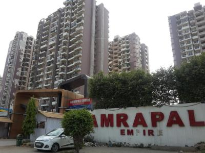 Gallery Cover Image of 1000 Sq.ft 2 BHK Apartment for rent in Amrapali Empire, Crossings Republik for 7000