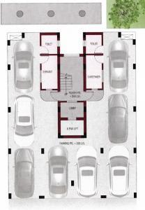 डेनिश डेरा को ऑपरेटिव हाउसिंग सोसाइटी में खरीदने के लिए 0 - 1268.0 Sq.ft 3 BHK अपार्टमेंट प्रोजेक्ट  की तस्वीर