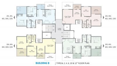Project Image of 460.6 - 960.26 Sq.ft 1 BHK Apartment for buy in GT Mangal Vishwa