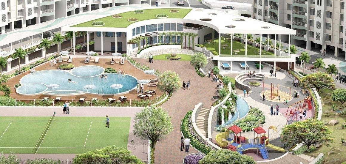 Project Image of 1315.0 - 2740.0 Sq.ft 2 BHK Apartment for buy in Vascon Forest County