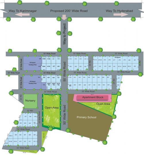 Project Image of 880 - 885 Sq.ft 2 BHK Apartment for buy in Prajay Homes Extn