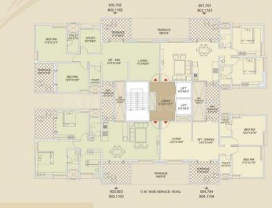Project Image of 1101.0 - 1387.0 Sq.ft 2 BHK Apartment for buy in Sharada Spandan